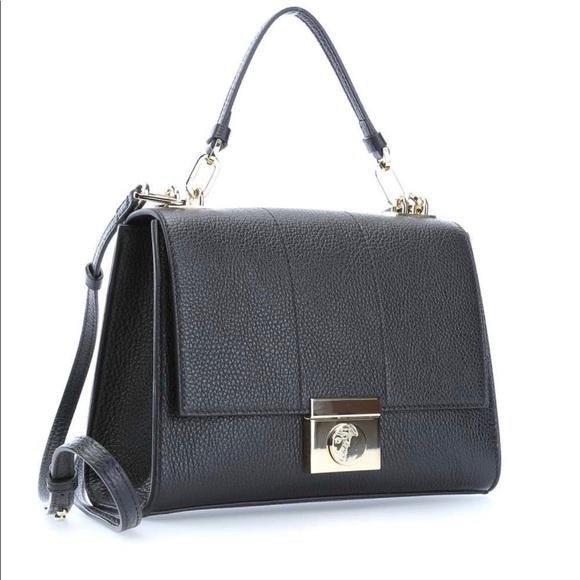 8ec5d01e21a5 Versace Collection Black Leather Purse NWT